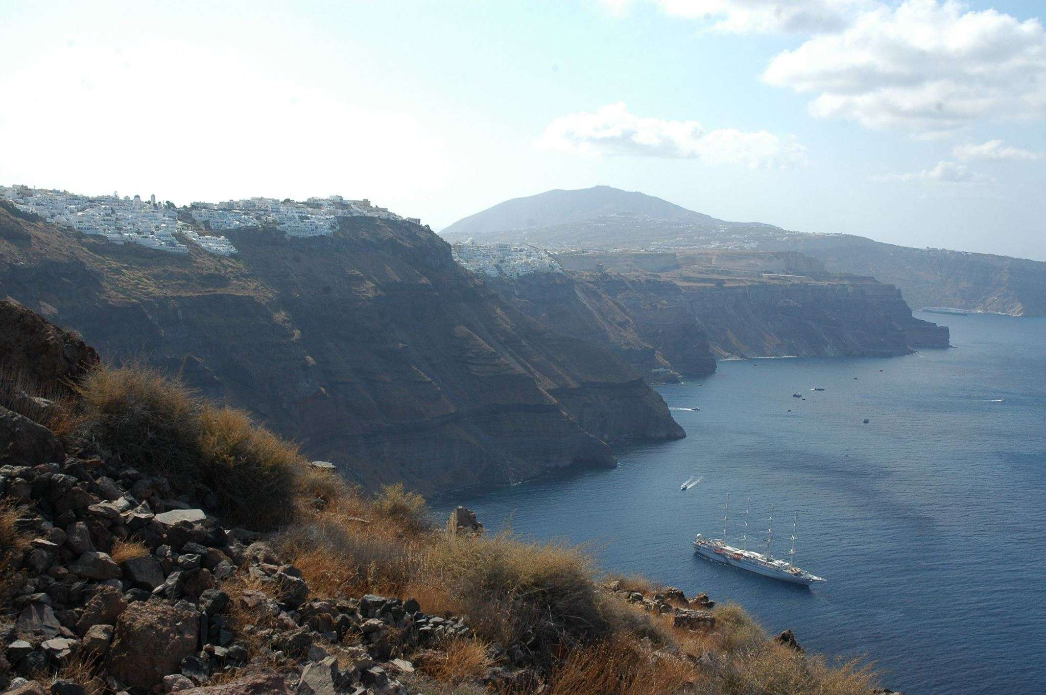 Overlooking Imerovigli, Santorini