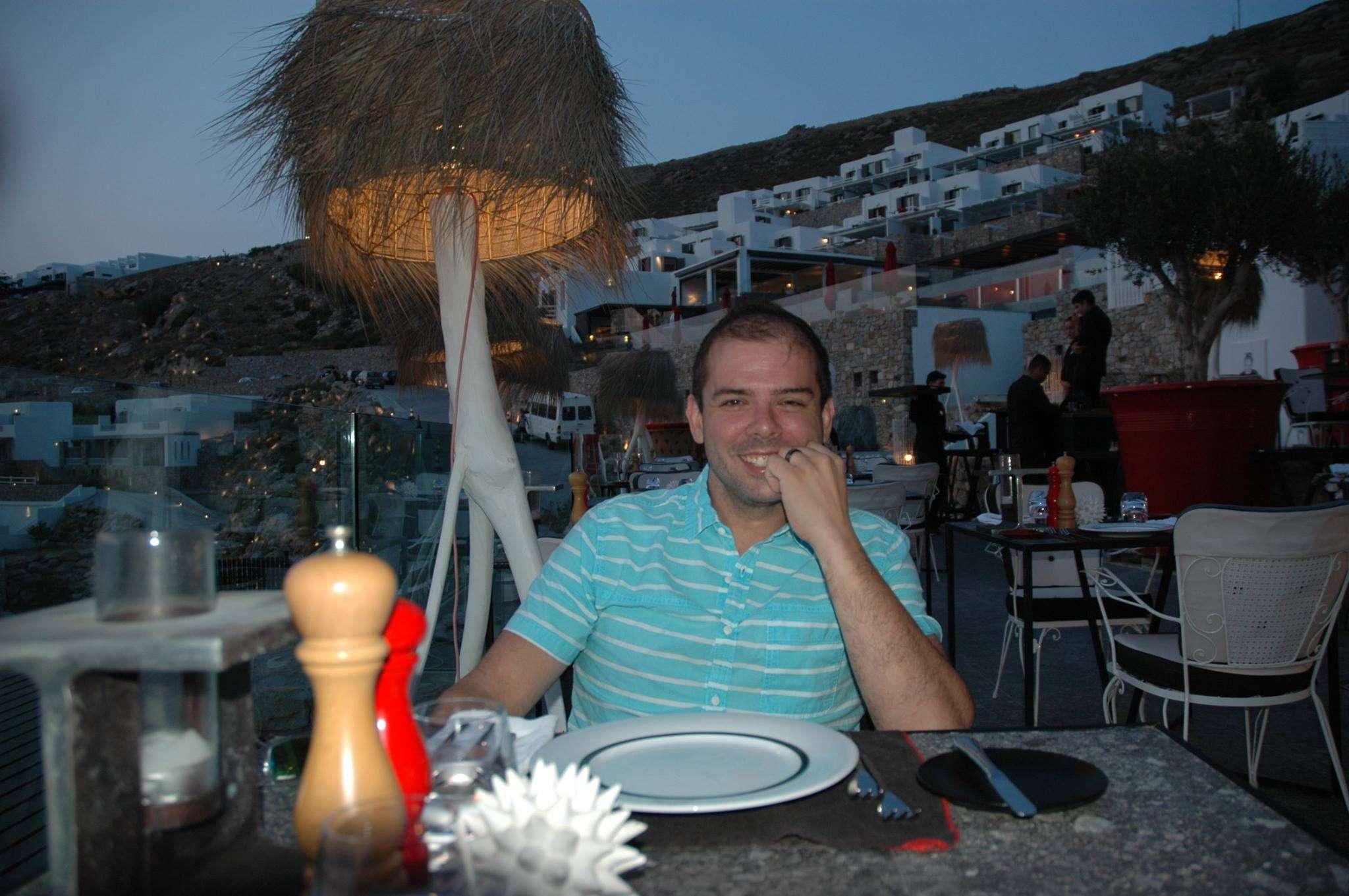 Enjoying a romantic dinner at the AVATON Restaurant