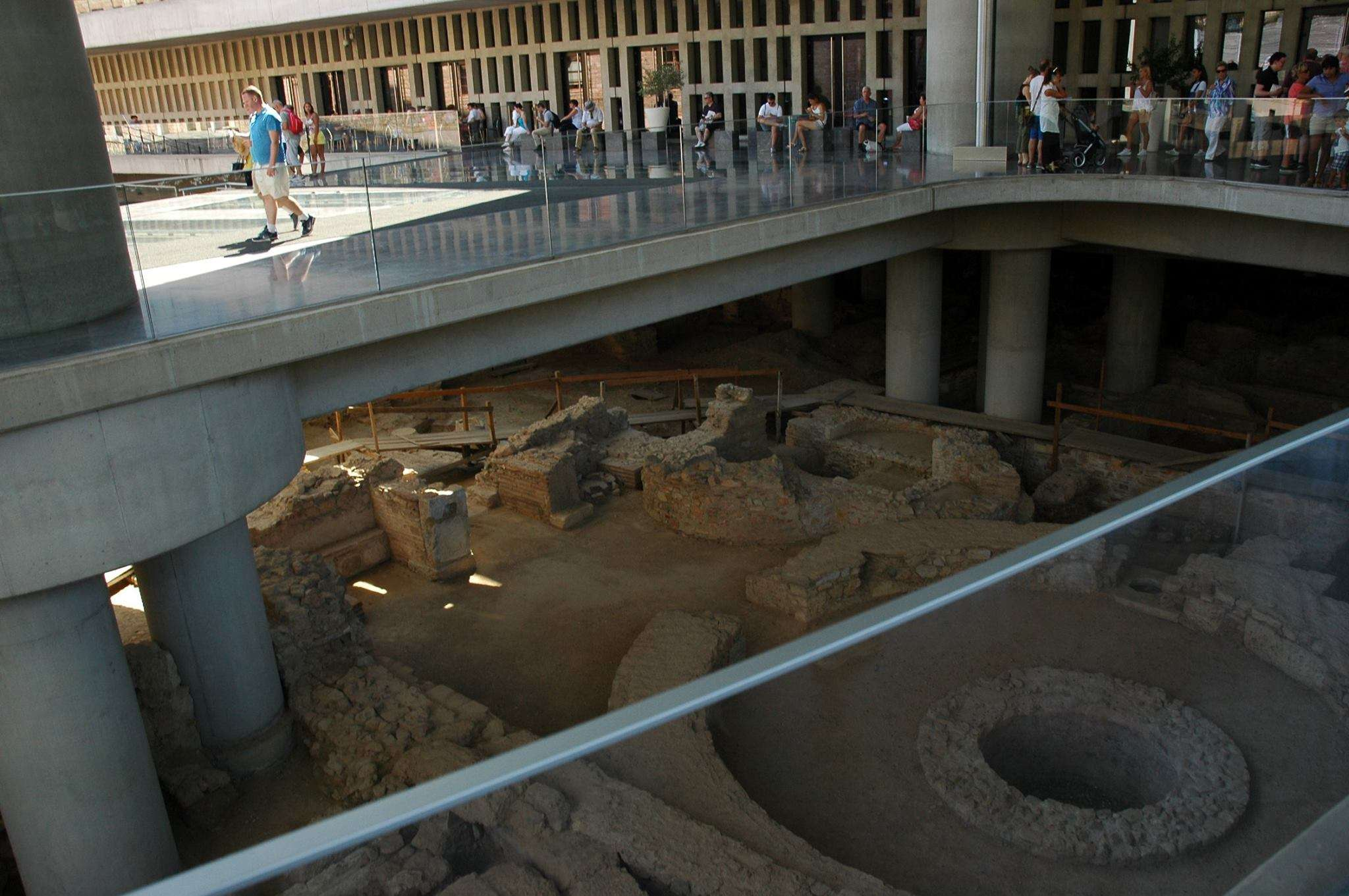 Entranceway to the Acropolis Museum