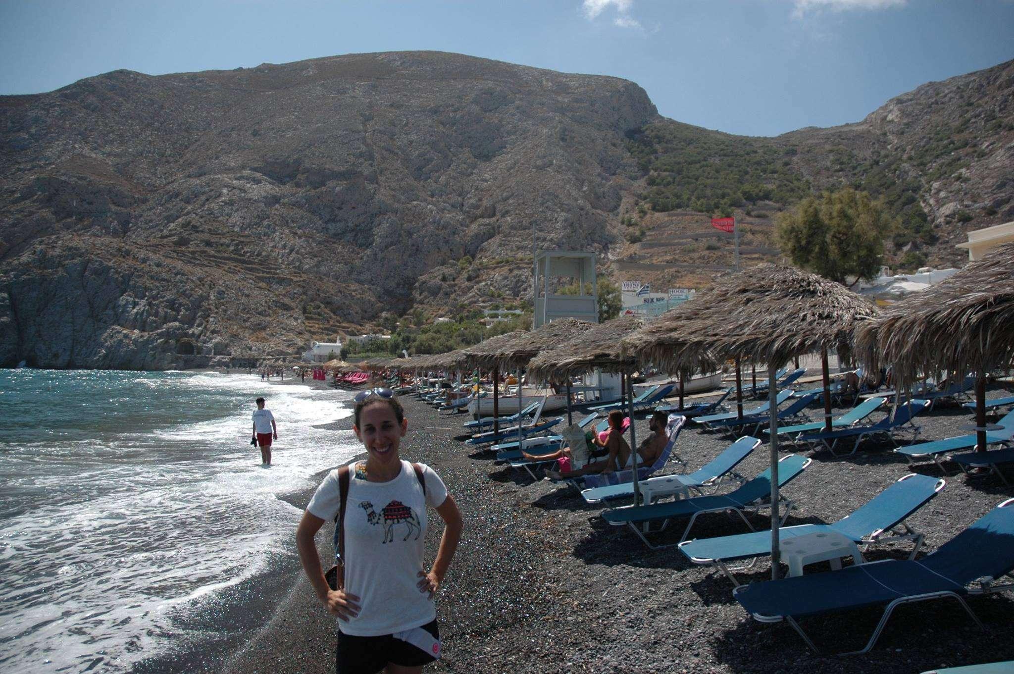 Kamari Beach, Santorini