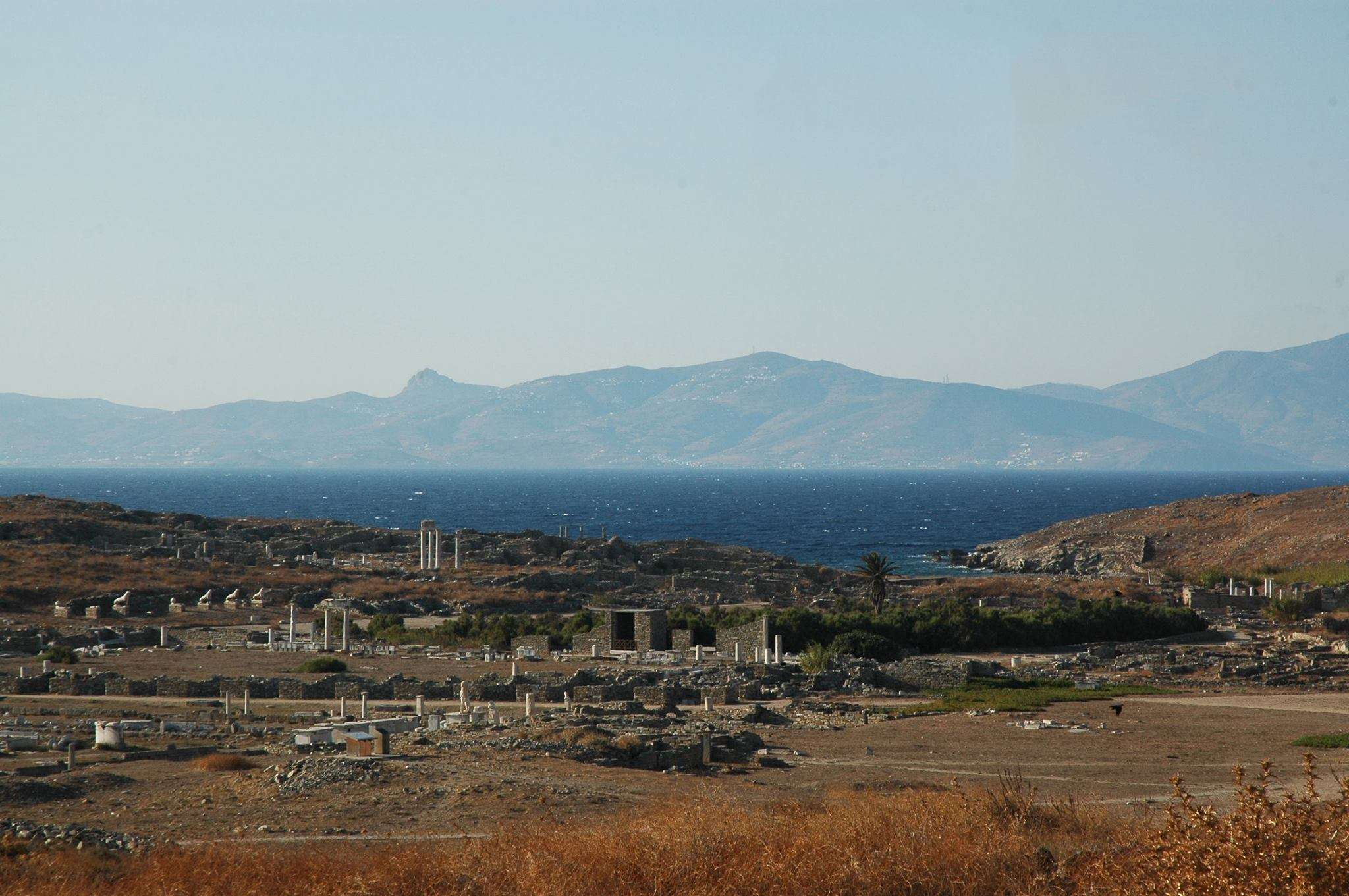 Gorgeous landscape on Delos Island
