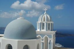 Churches in Fira, Santorini