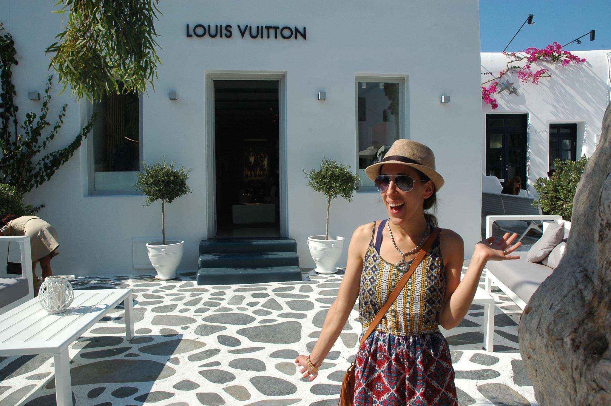 Louis Vuitton in Mykonos Town