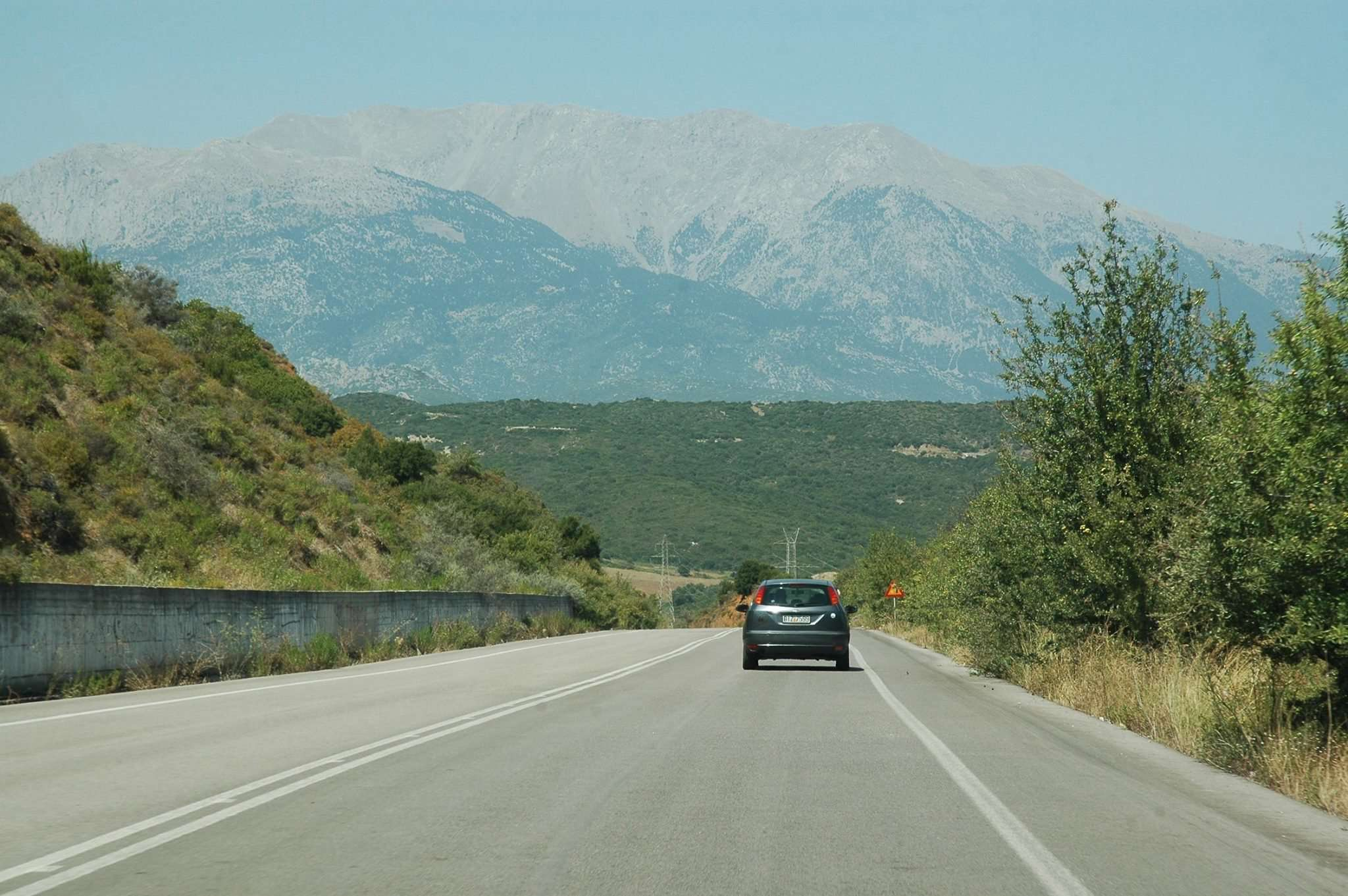 The drive to Delphi