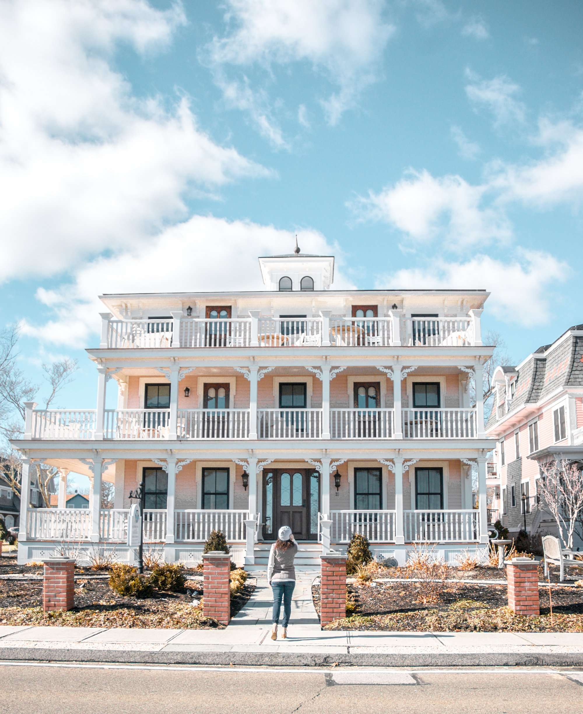 Three Stories guest house at Saybrook Point Inn and Spa