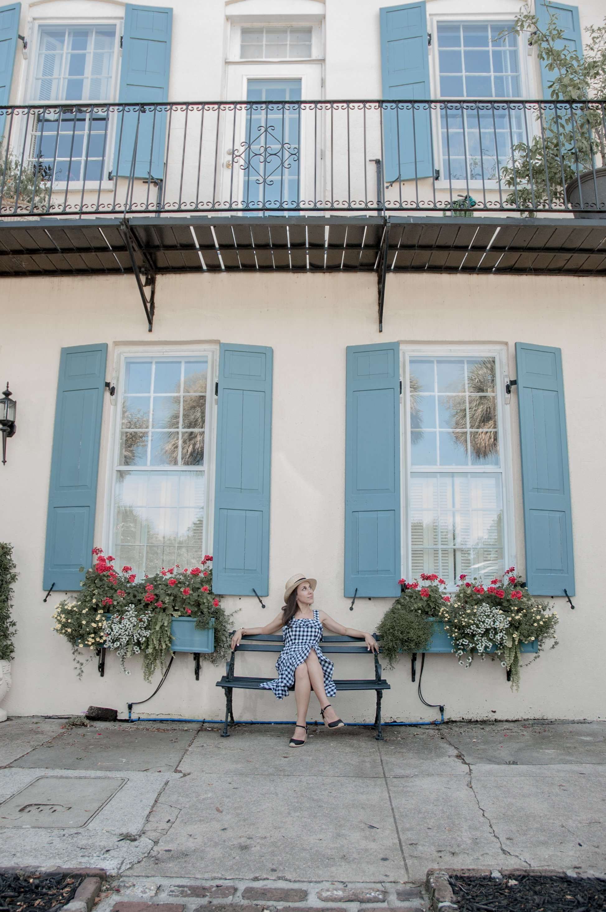 Enjoying the Architecture in the French Quarter