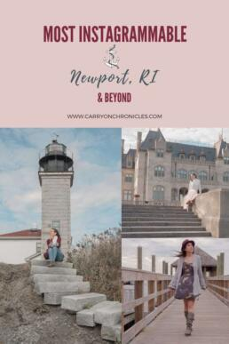 Most Instagrammable Newport RI and Beyond