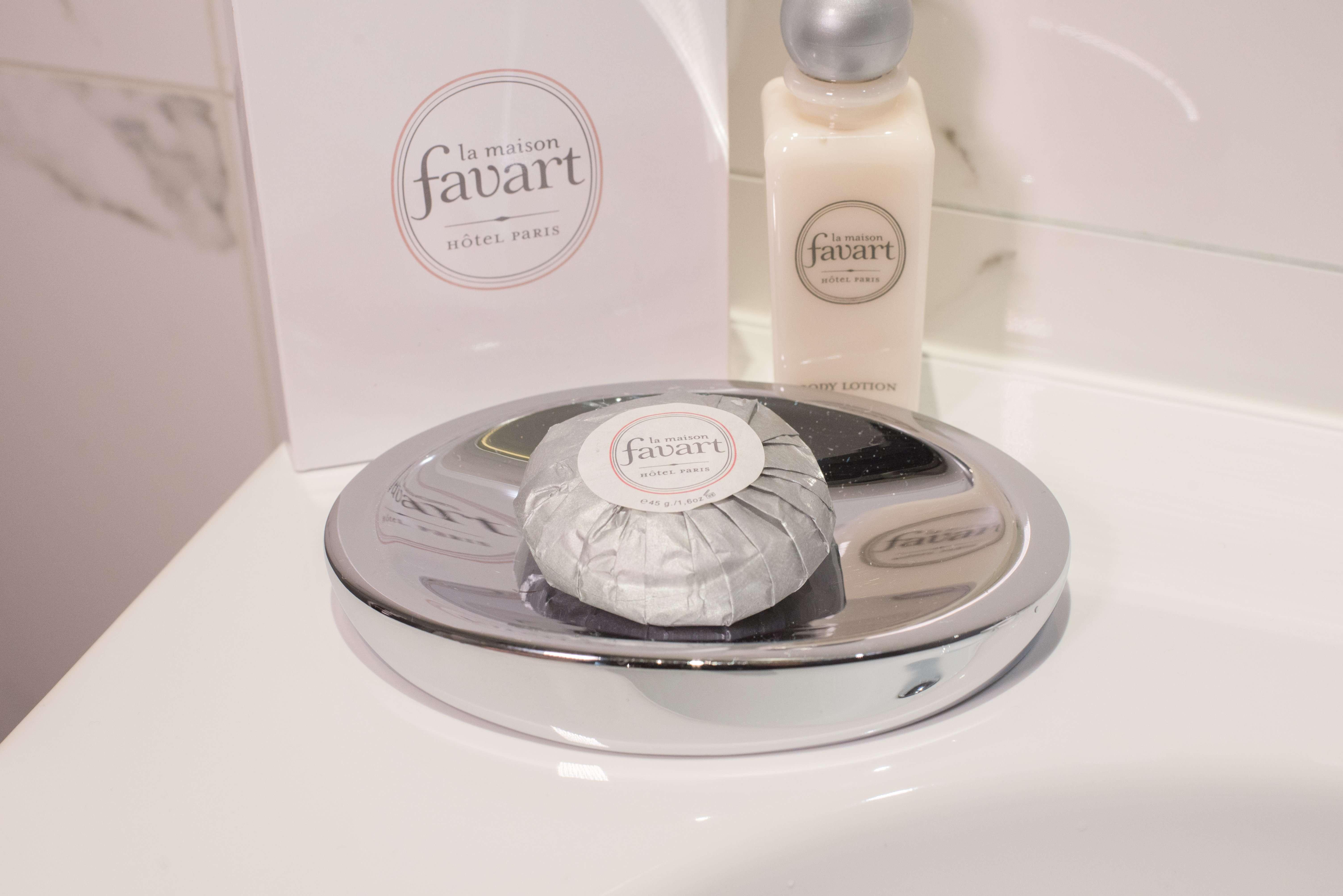 Branded soaps at La Maison Favart