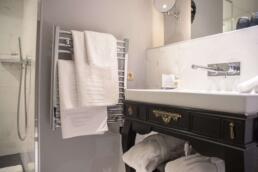Towel Heating Rack at La Maison Favart