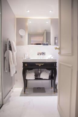 Luxury bathroom at La Maison Favart