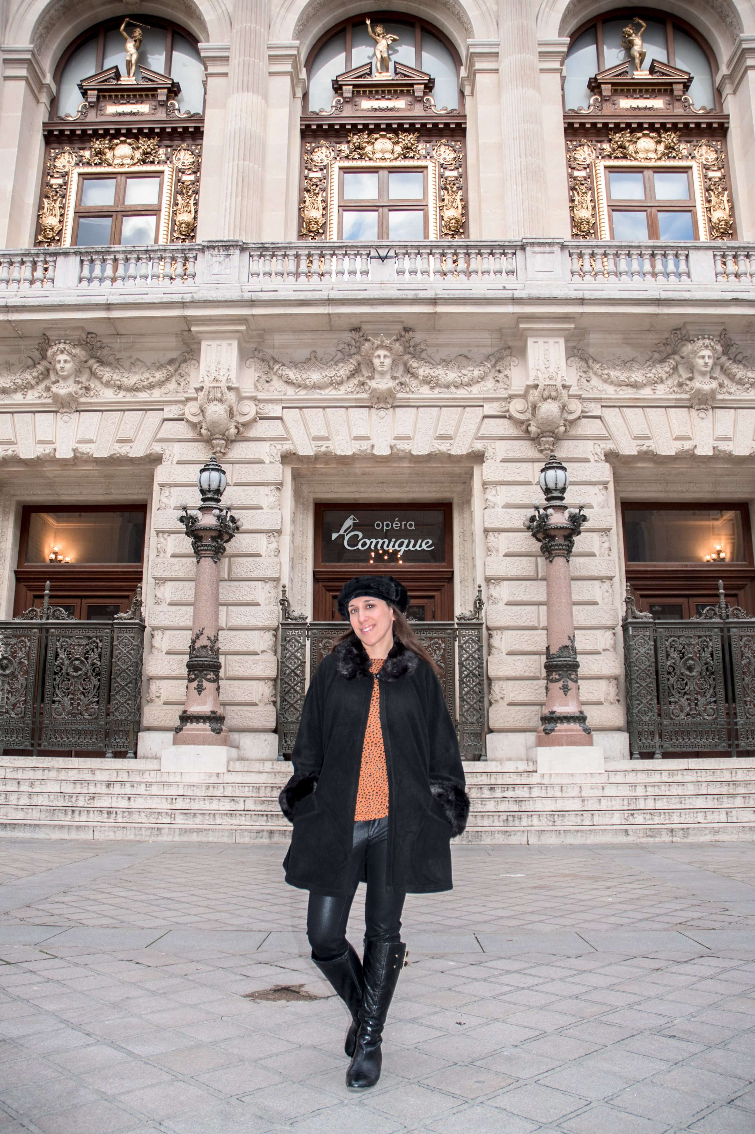 In front of the Opera Comique