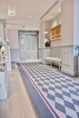 Entranceway at La Maison Favart