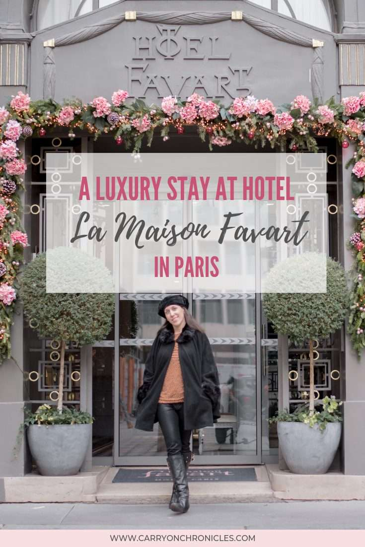 My trip to Paris was made complete by a luxury stay at Hotel La Maison Favart. Here's a look at my experience at this beautiful 4-star boutique hotel.