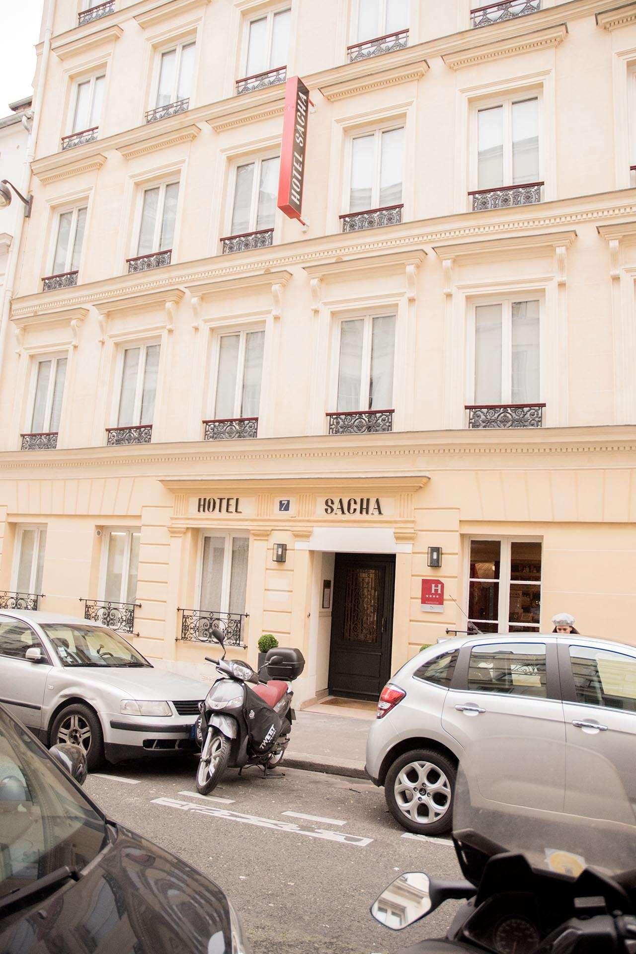Exterior of Hotel Sacha