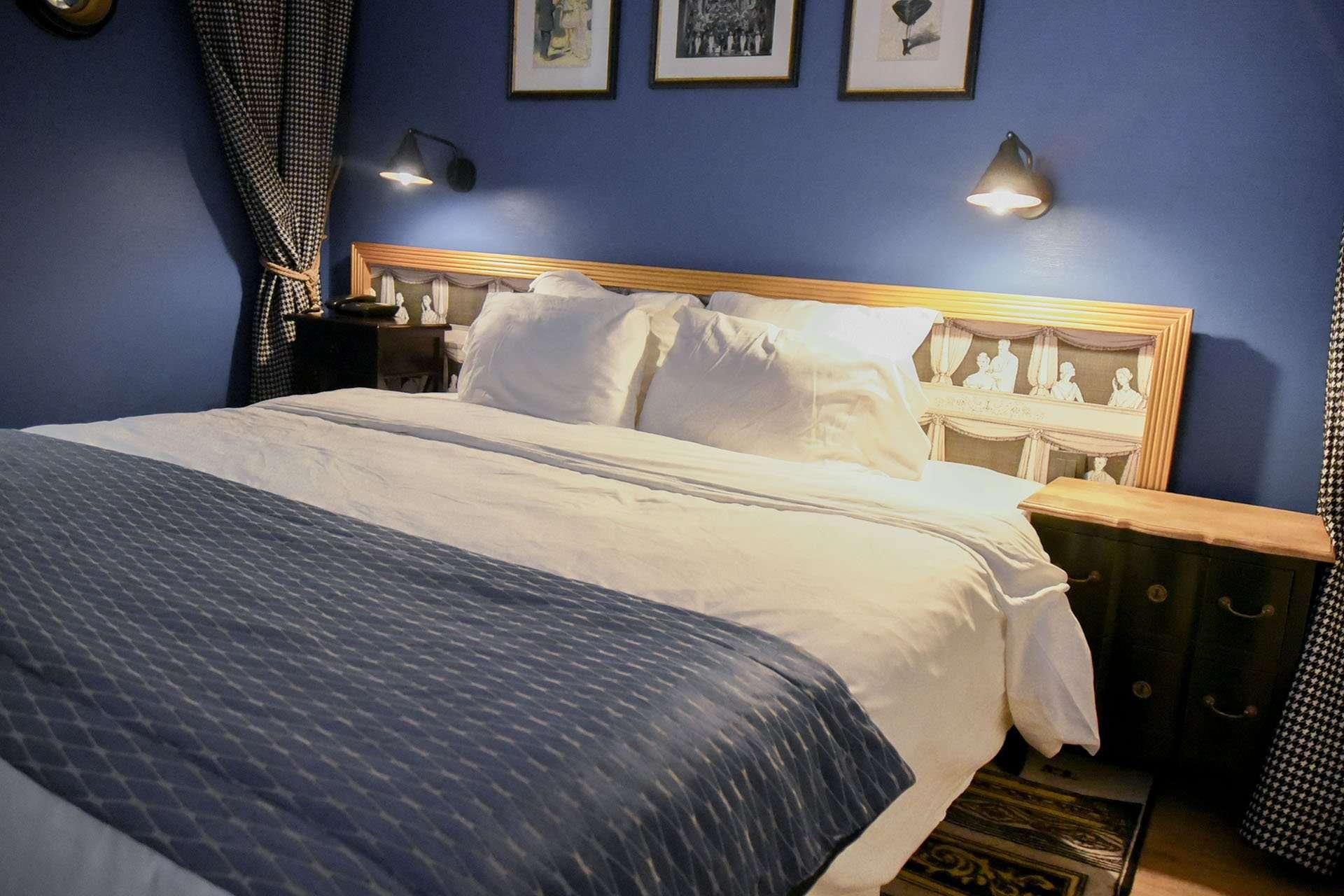 Bed at Hotel Sacha