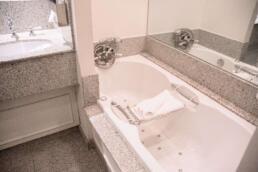 Soaking tub at The Pand Hotel