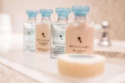 Beautiful toiletries from The Pand Hotel