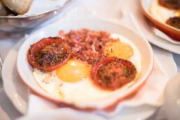 Delicious eggs from The Pand Hotel