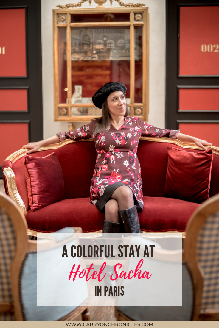 A Colorful Stay at Hotel Sacha in Paris
