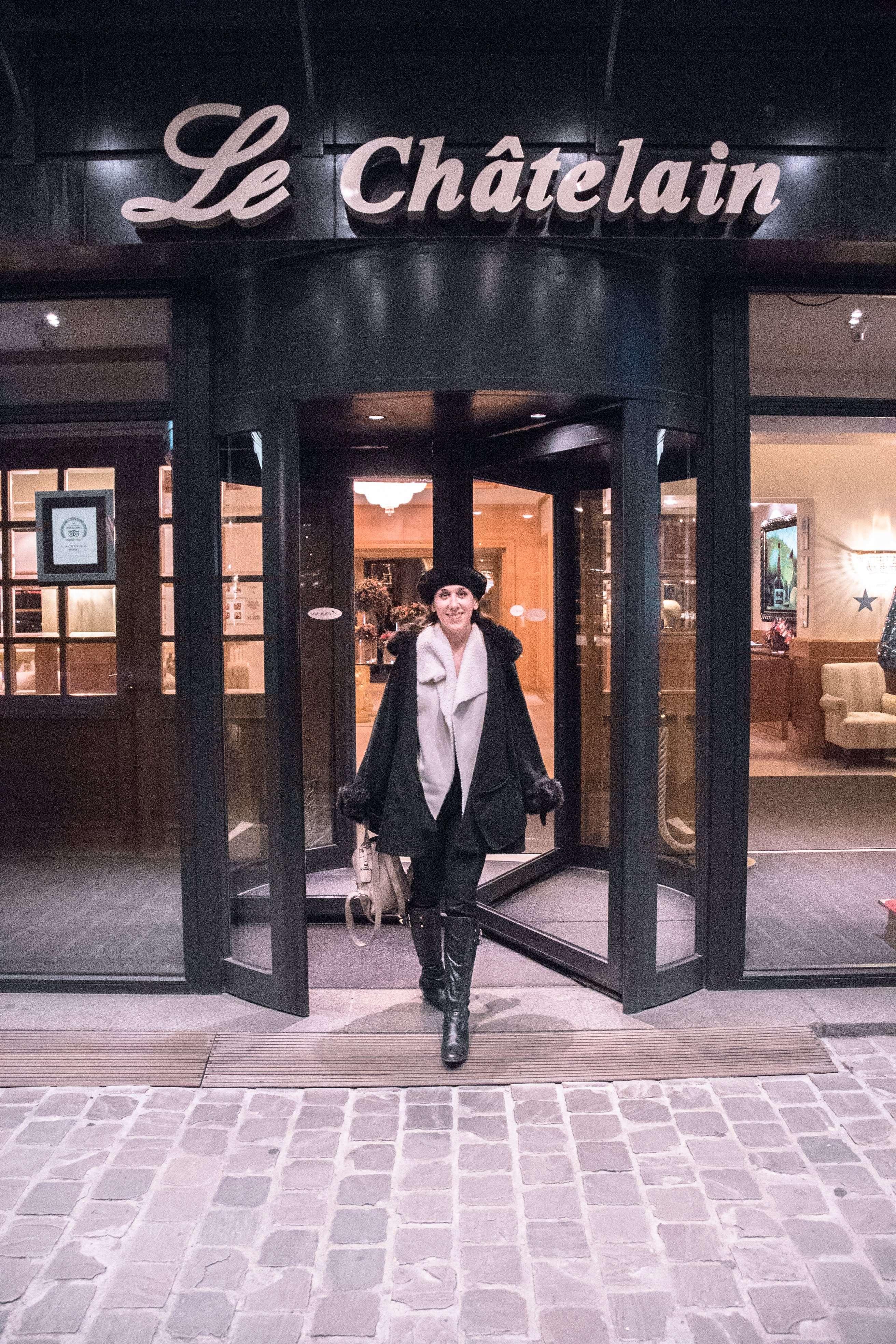 Entranceway of Le Châtelain Brussels Hotel