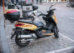 Frietmuseum motorcycle