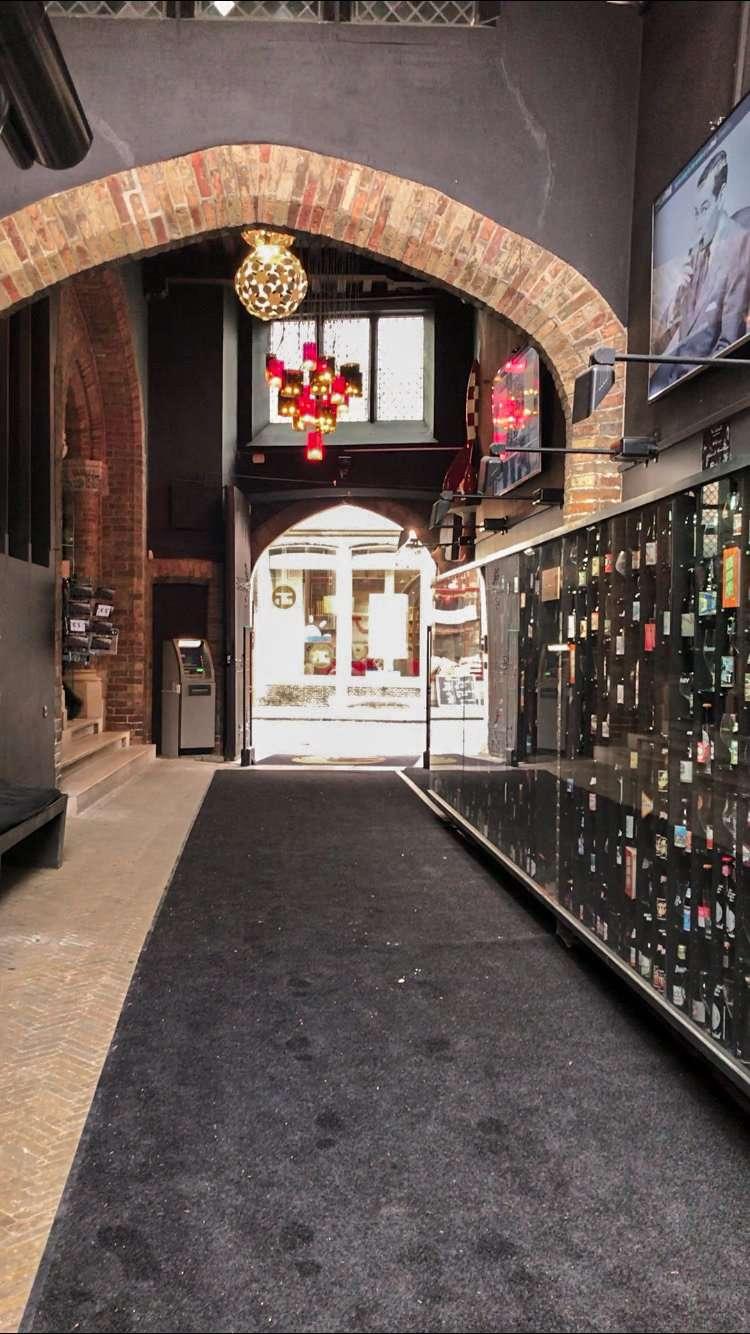 Beer wall at 2be Bar