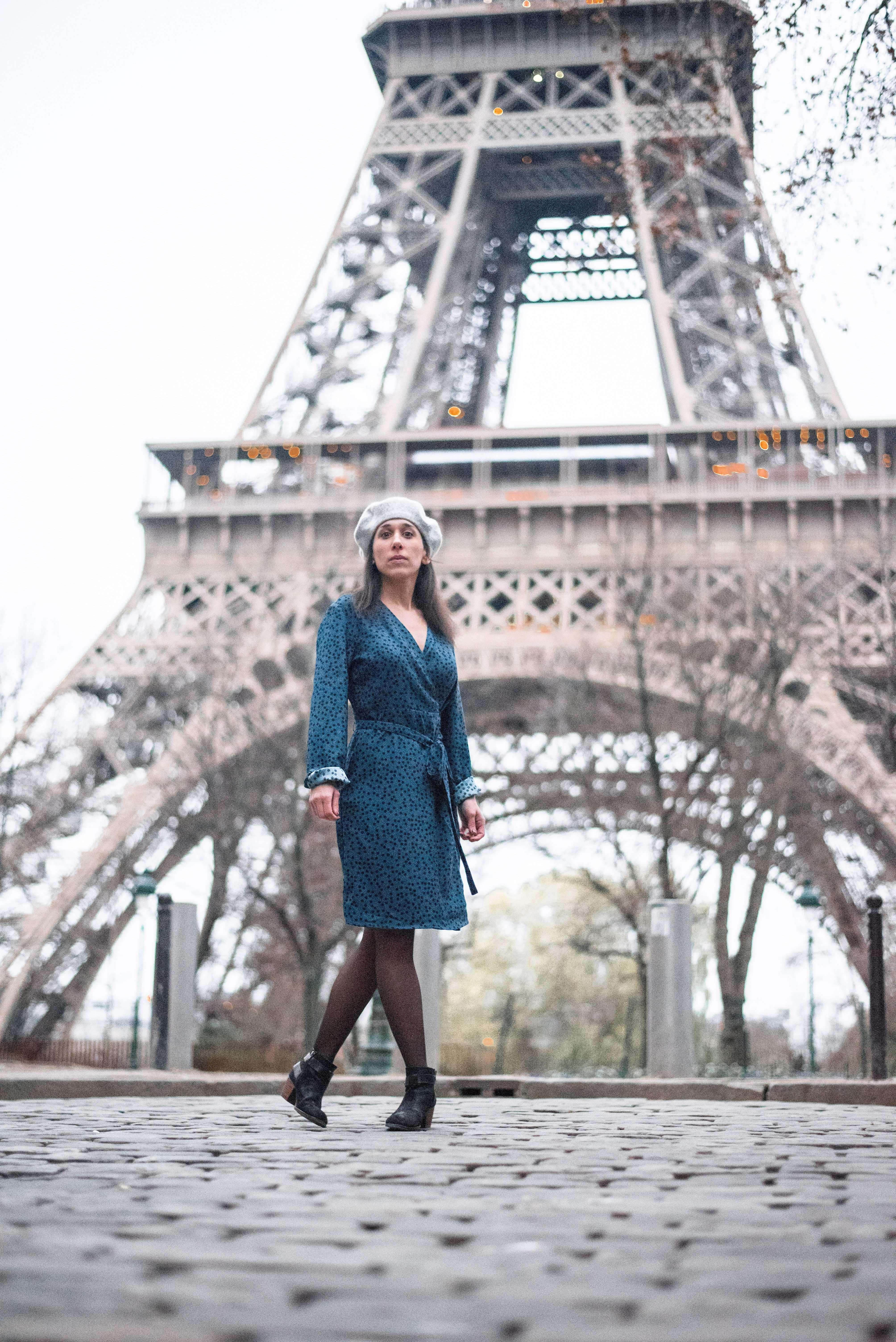 Eiffel Tower from Rue de l'Université