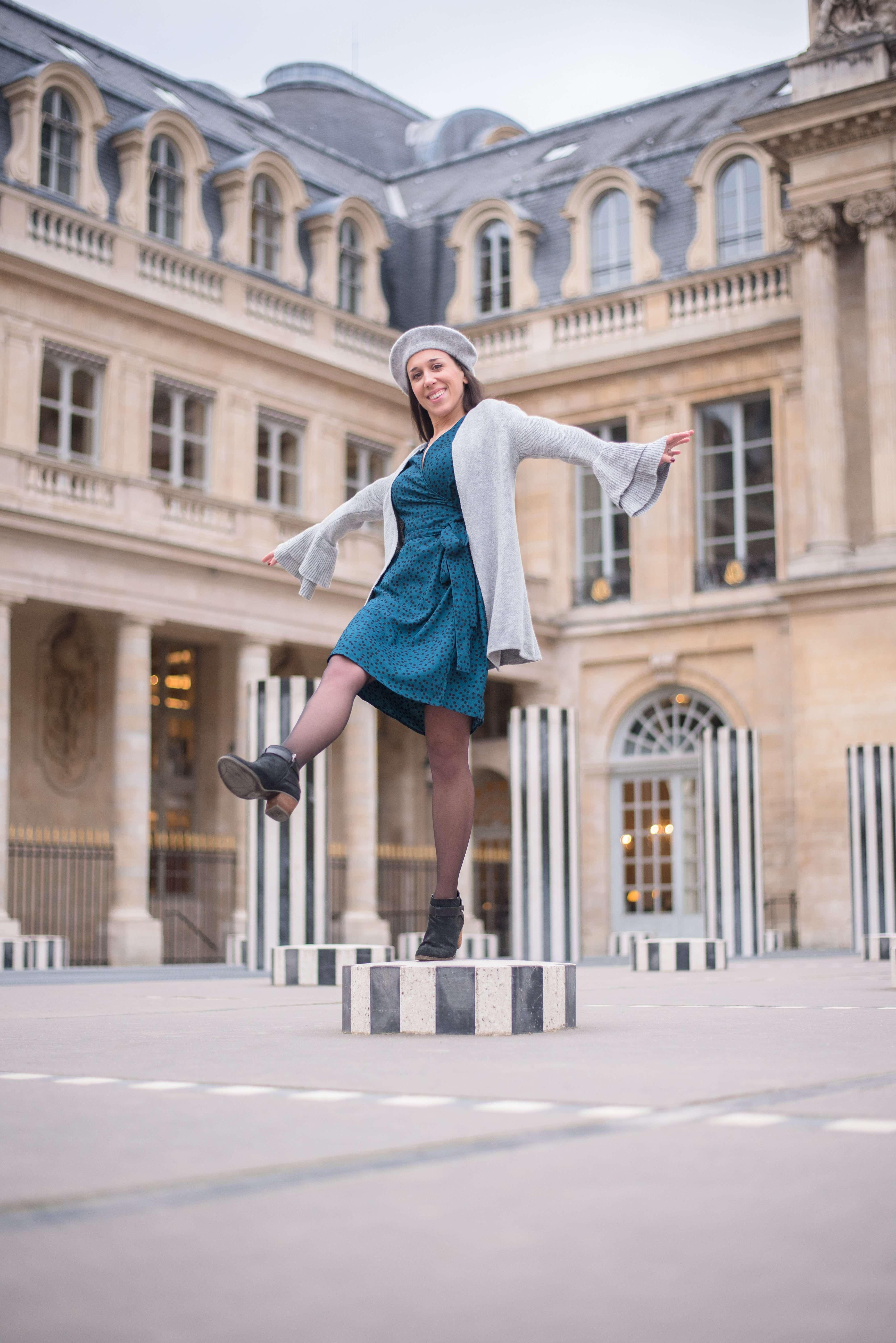 Experimenting with movement at the Palais Royal