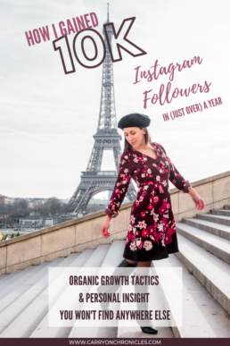 How I Gained 10K Instagram Followers in Just Over a Year