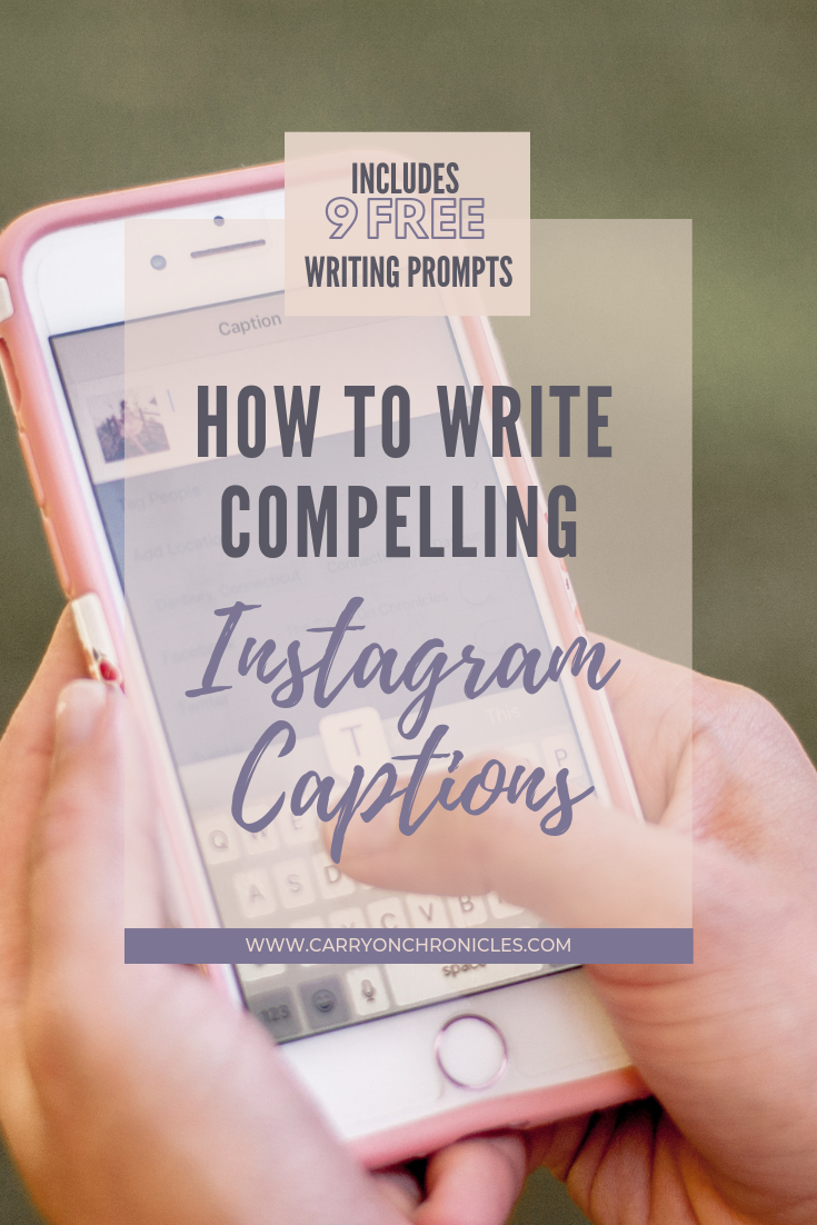 How to Write Compelling Instagram Captions