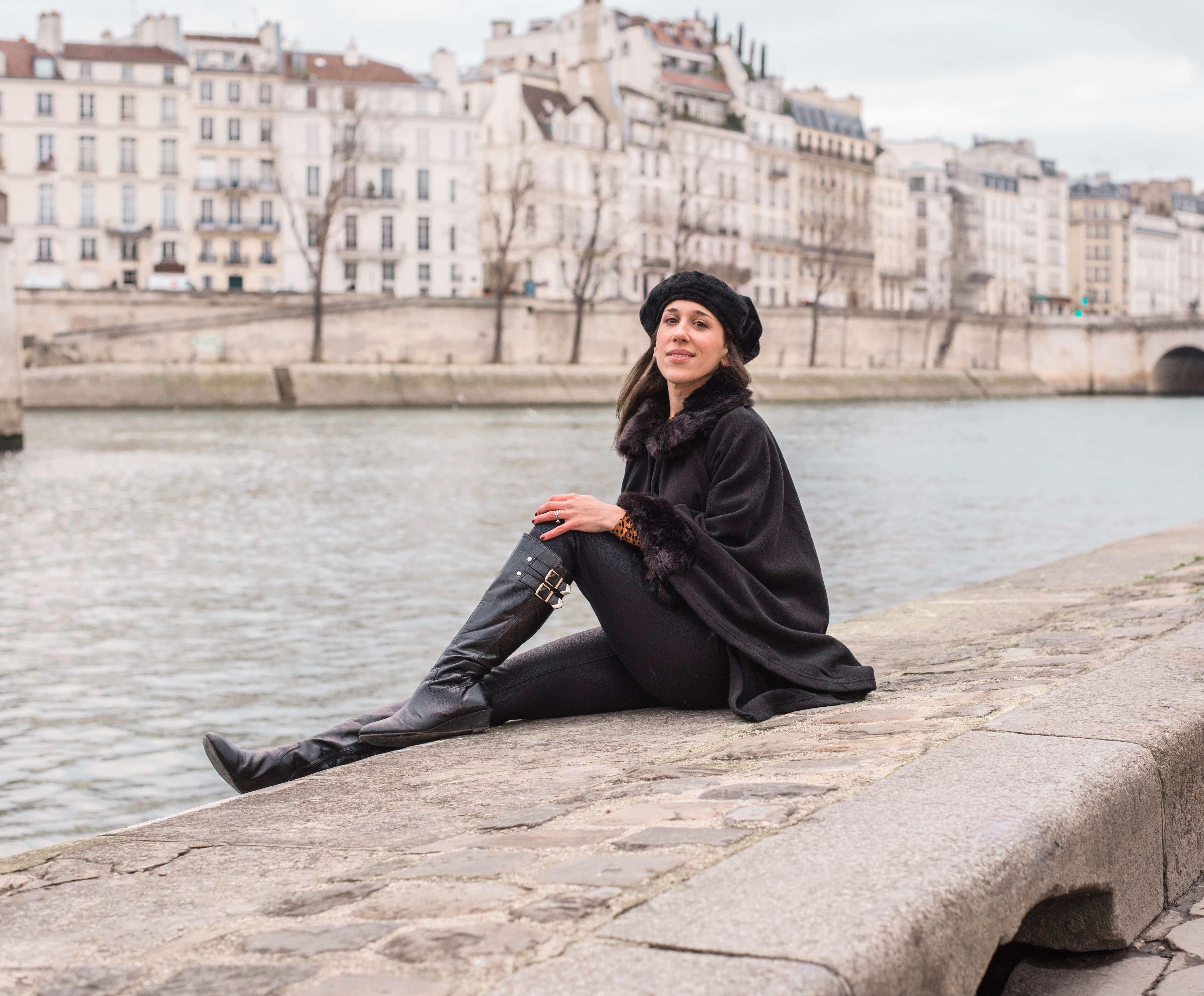 Loving life on the Seine River, Paris