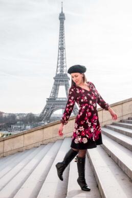 Enjoying the Eiffel Tower from The Trocadero