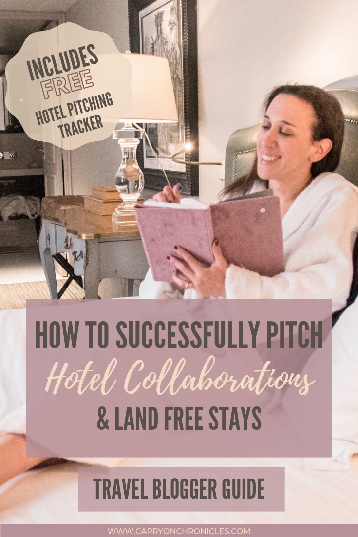 How to Successfully Pitch Hotel Collaborations