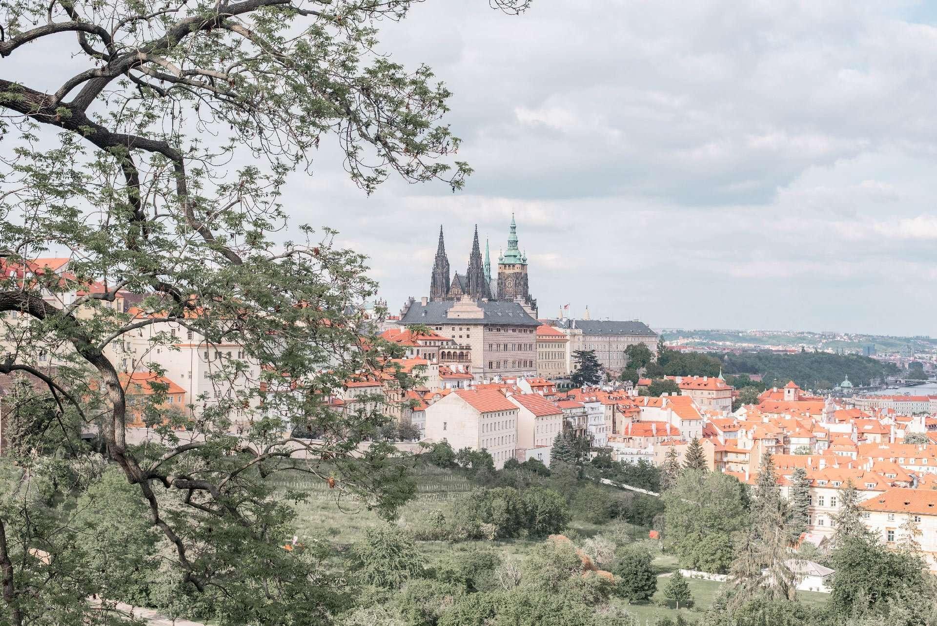 Views of Prague from Petrin Hill