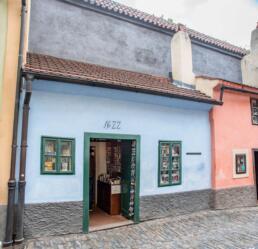 Franz Kafka House Golden Lane Prague