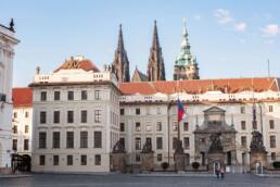 Front gate of Prague Castle