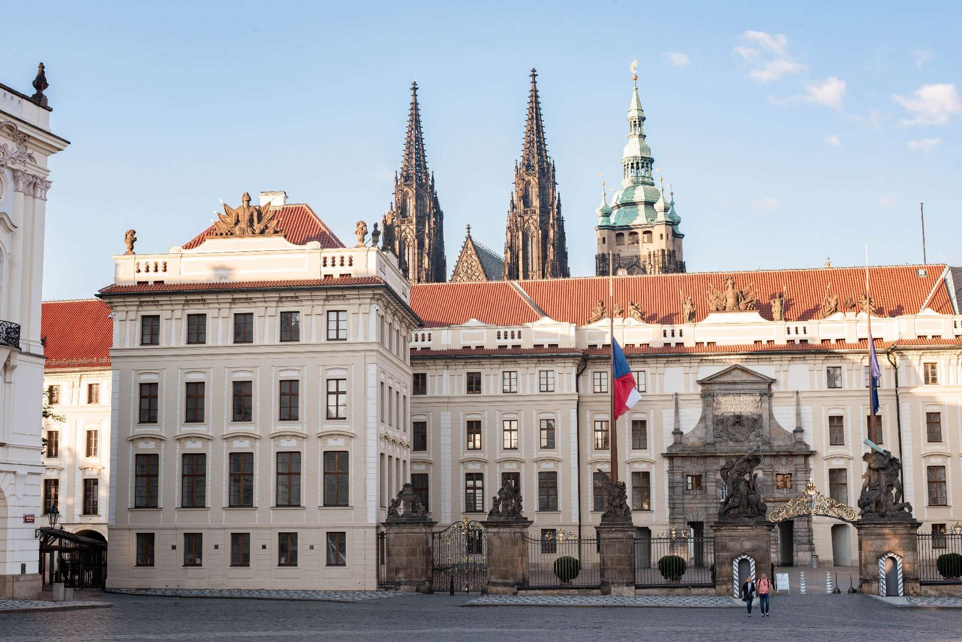 Front gate of Prague Castle