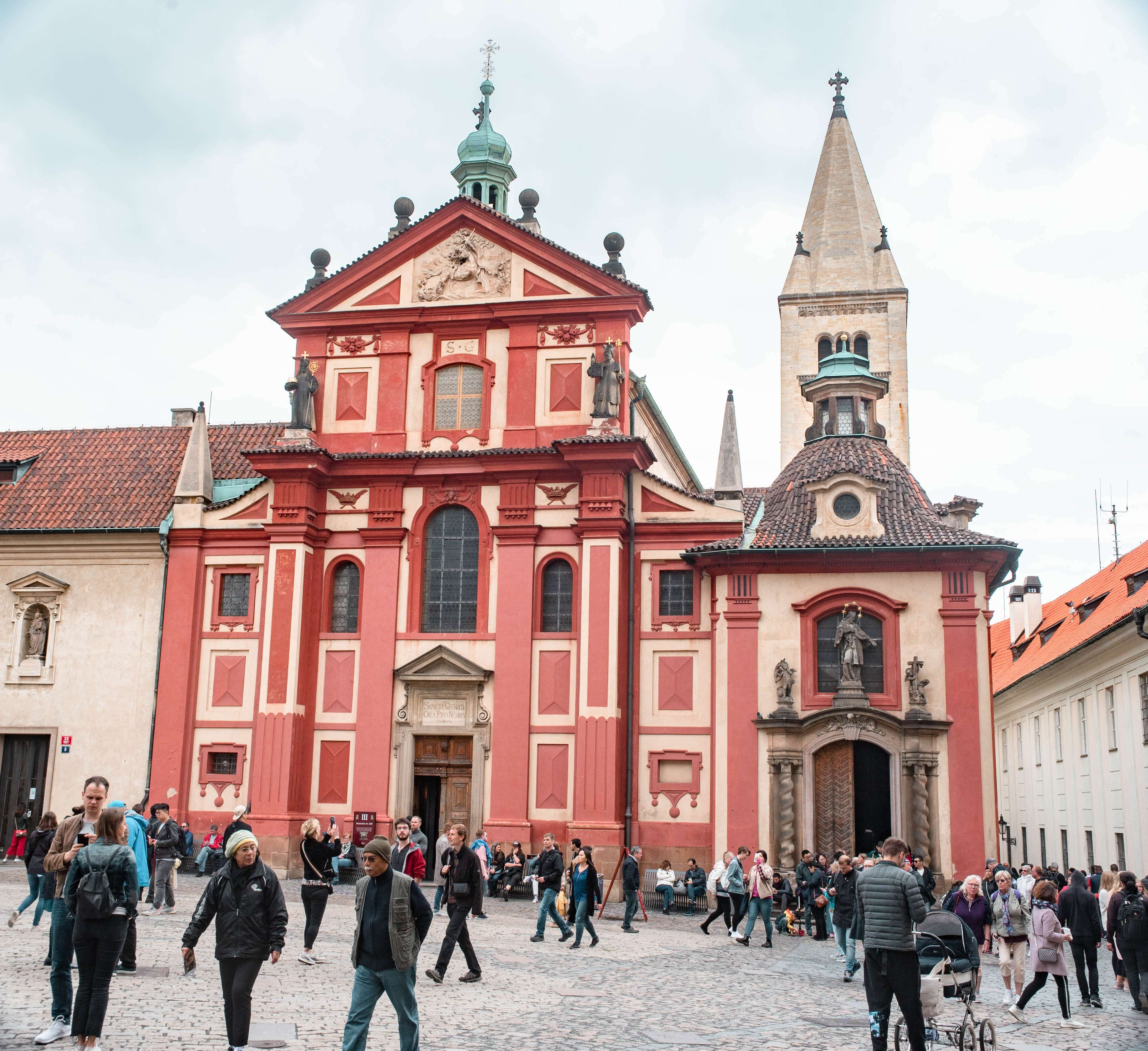 St. George's Basilica, Prague Castle