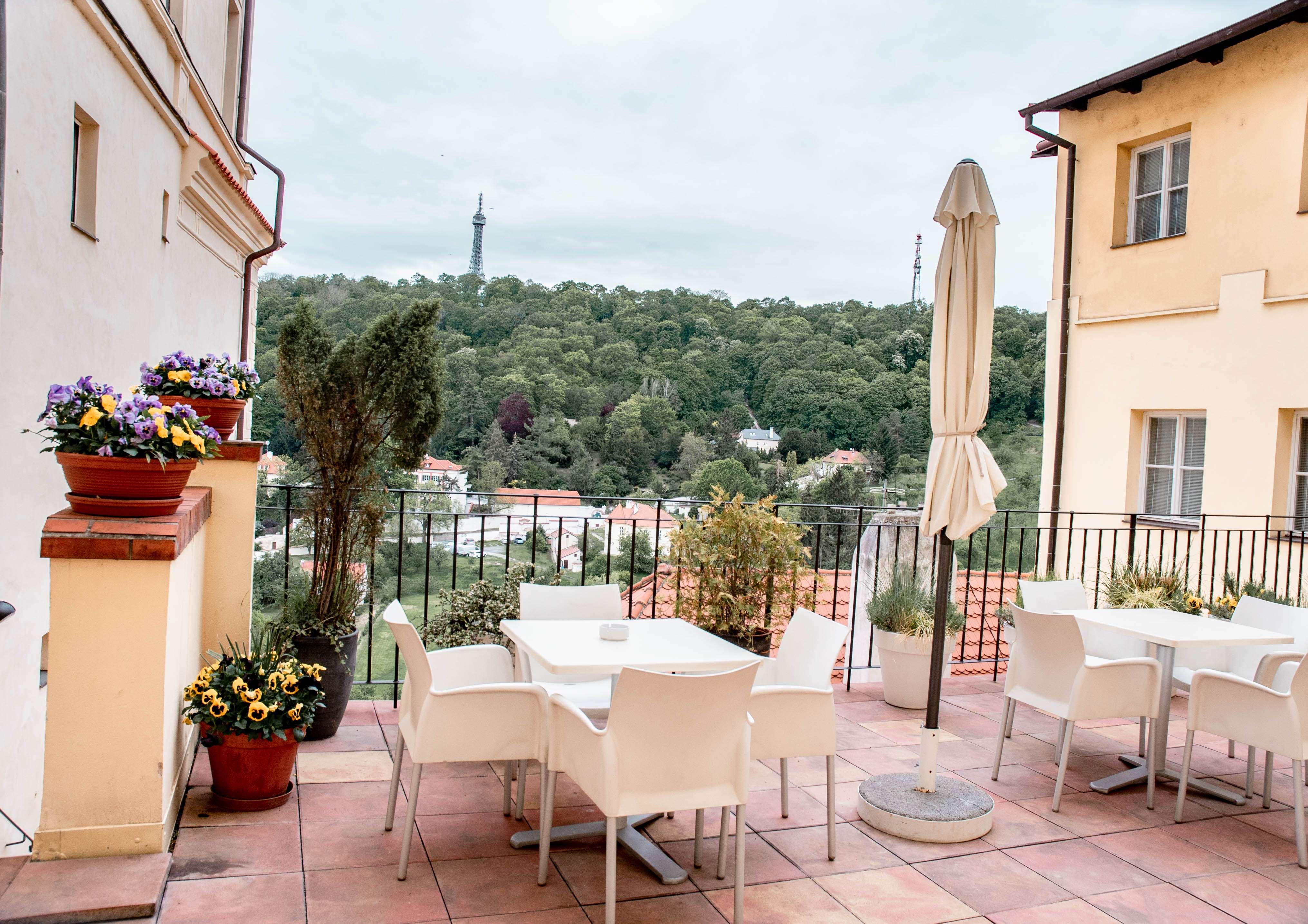 Terrace at Domus Henrici