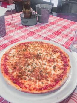 Pizza in Prague