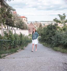 Strolling around Petrin Hill in Prague
