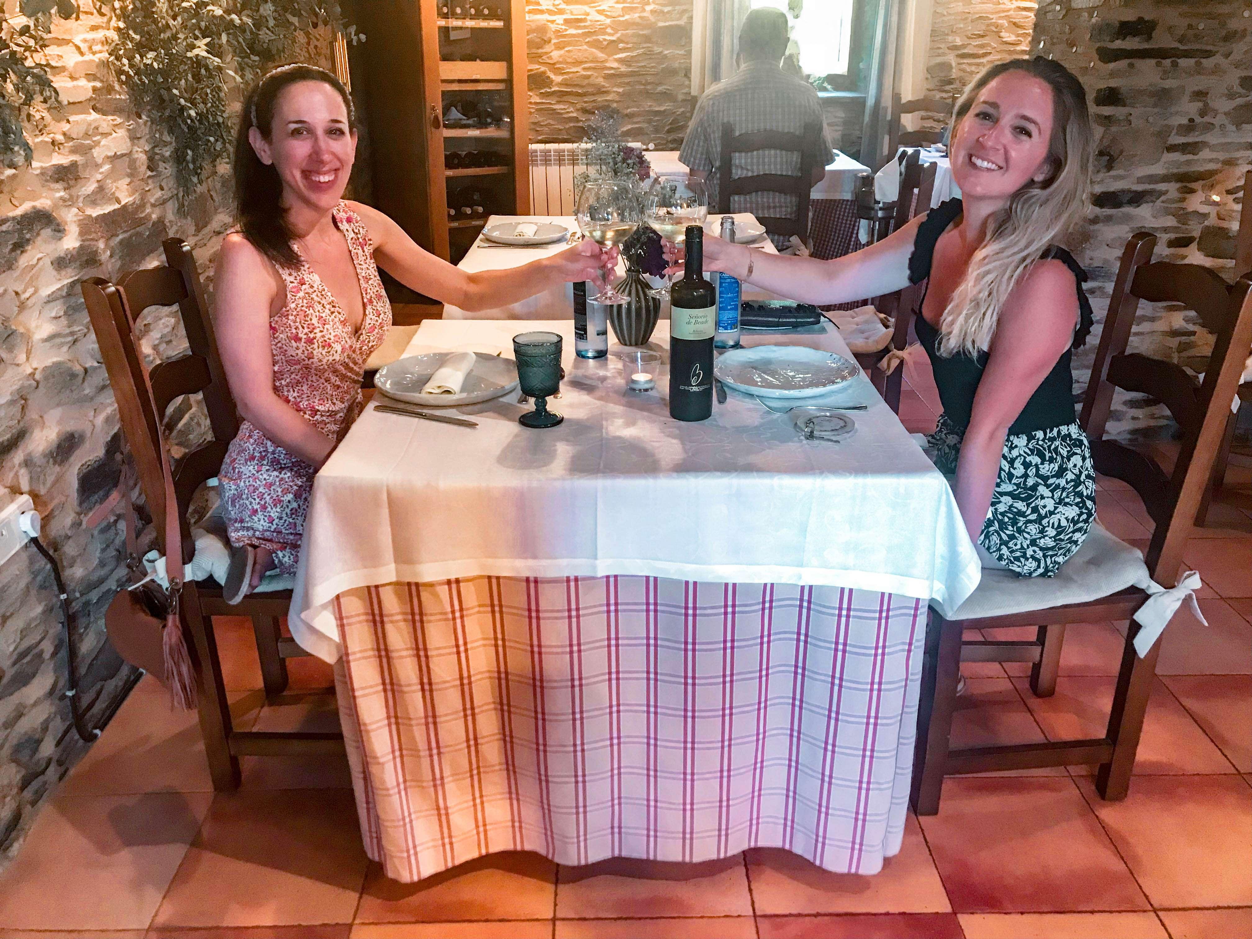 Dinner with Taylor Pazo Santa Maria