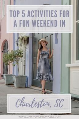 Fun weekend in Charleston