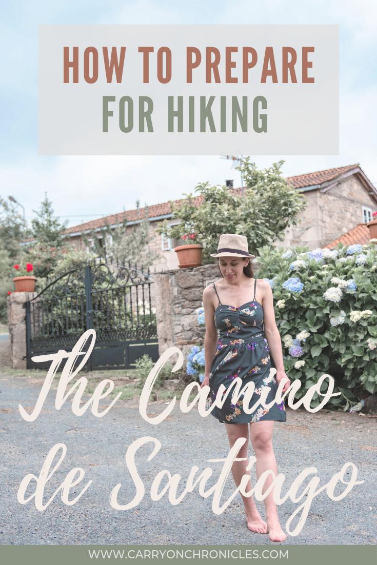 Hiking el camino de santiago