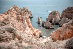 Views at Ponta da Piedade