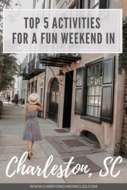 Weekend in Charleston, SC