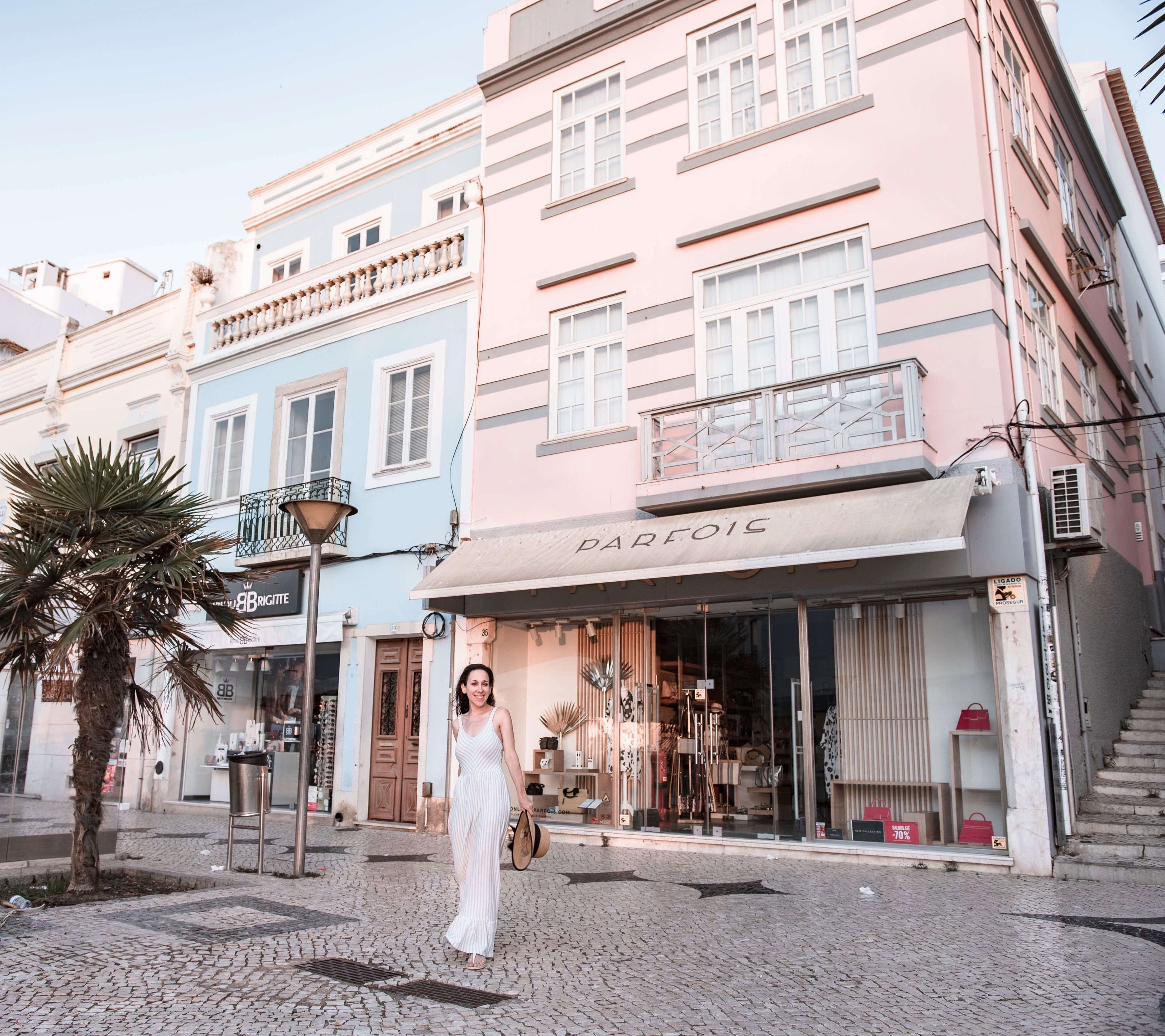 Cute shops of Lagos Old Town