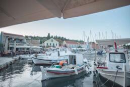 Boats in Fiskardo Harbor