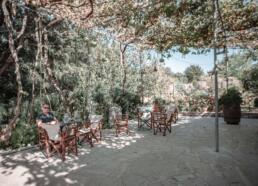Dourakis Winery garden, Crete