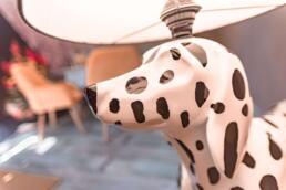 Fileas Art Hotel dalmation lamp
